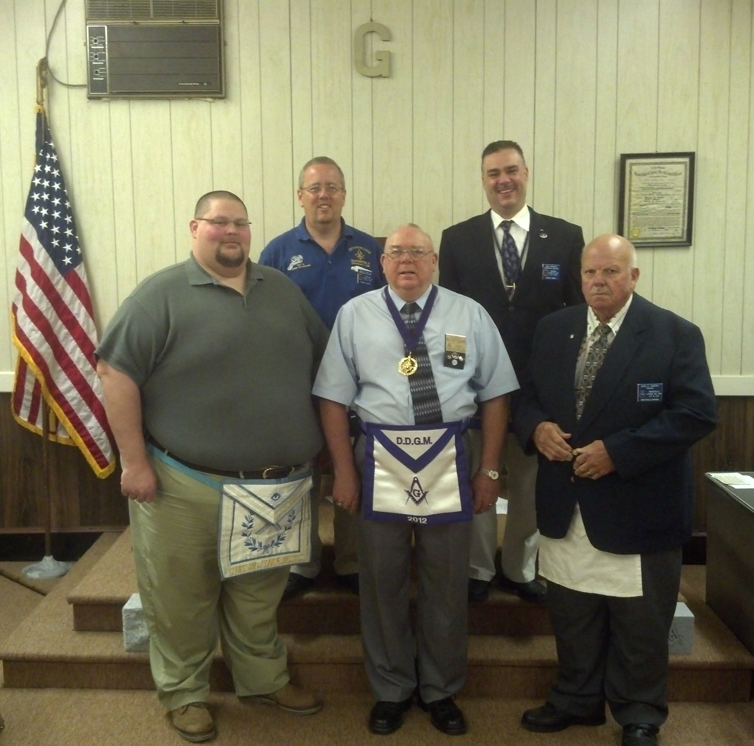 32nd Dist Masonic Leadership